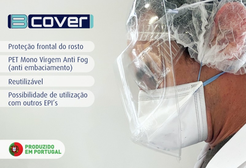 viseira de proteção bcover